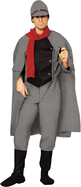 Disfraz Sherlock Holmes: Amazon.es: Juguetes y juegos