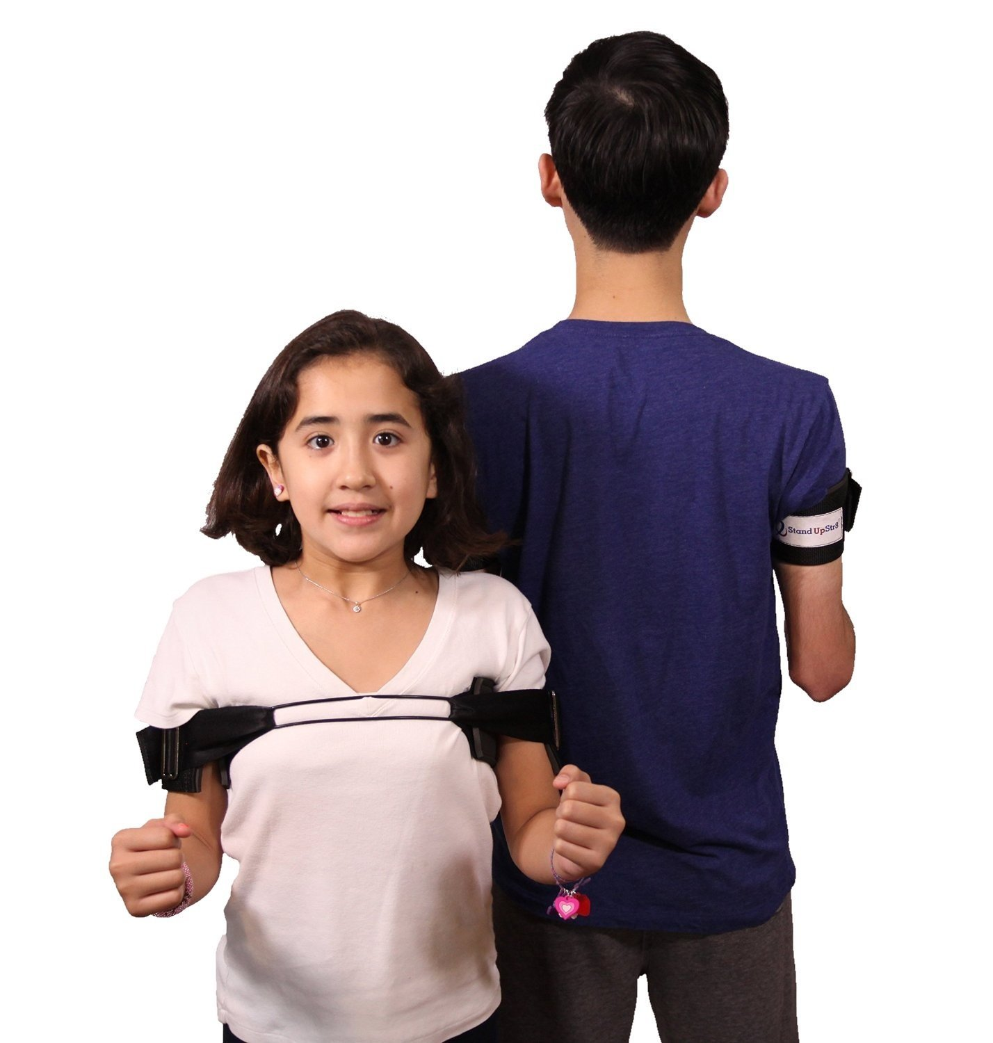 Stand Up Str8 Posture Corrector - Middle Back Exerciser, Jr - for Children and Petite Adults