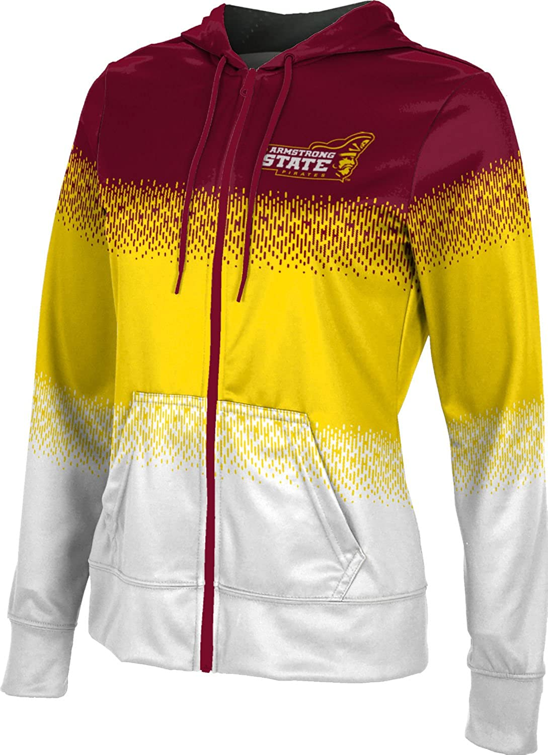 Drip School Spirit Sweatshirt ProSphere Armstrong State University Girls Zipper Hoodie