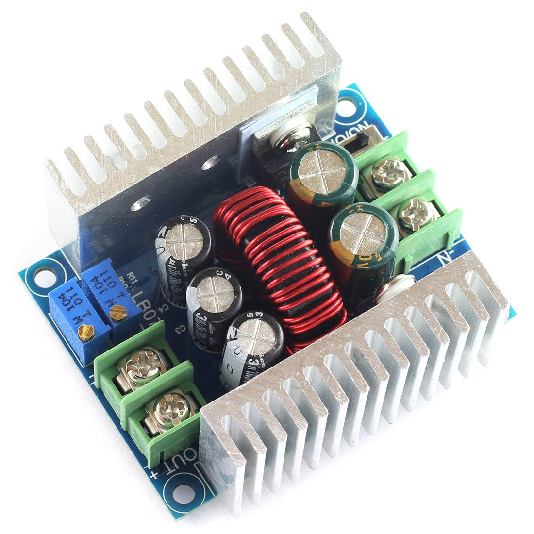 DZS Elec 20A DC-DC Step Down Buck Converter Module 6-40V to1.2-35V Adjustable Constant Voltage Constant Current Power Supply 300W Large Power Voltage Regulator Synchronous Rectification LED Drive