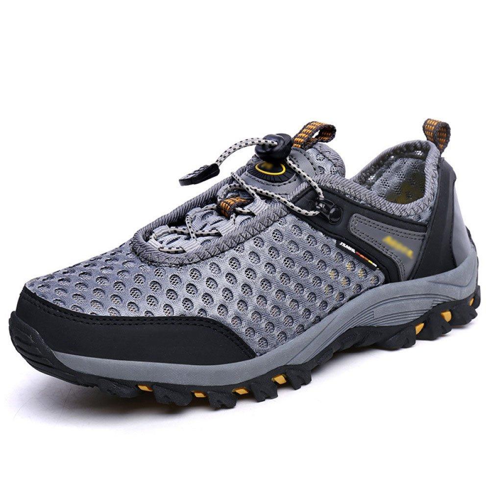 ba4287d3a4625 Mâle Randonnée Chaussures De Marche Maille Décontractée Respirant Résistant  à l usure Sneakers Mountain Shoes pour Gym Hommes Voyageant Daily Use  Junior ...