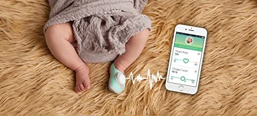 Amazon Owlet Baby Monitor Infant Heart Rate And Oxygen