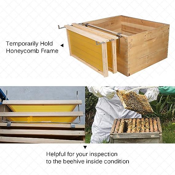 Beehive Pry Trim Bar Set of Beekeeping Jacket Veil Entrance Feeder Kit