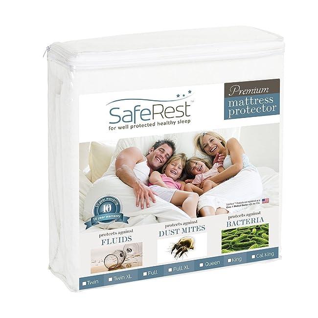Queen Size SafeRest Premium Hypoallergenic Wat...