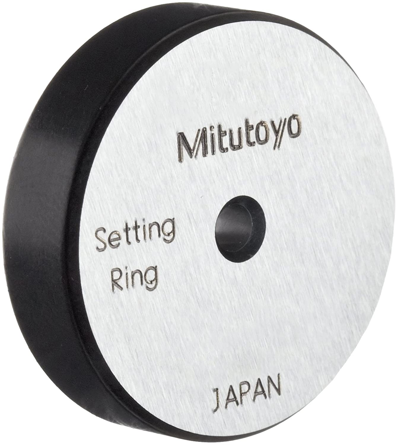 Mitutoyo 177-246 Setting Ring, 2.75mm Size, 7mm Width, 25mm Outside Diameter, -1.5Micrometer Accuracy