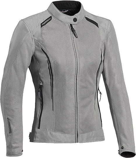 Ixon - Chaqueta para moto Cool Air Lady, color beige, talla ...