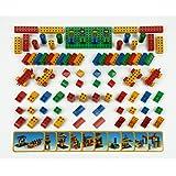 """Klein - 0656 - Jeu de construction - Set Ecole Manetico """"Creative"""" 85 pièces et 10 cartes, sous sachet"""