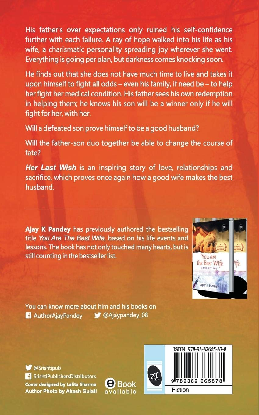 Buy Her Last Wish Book Online at Low Prices in India | Her