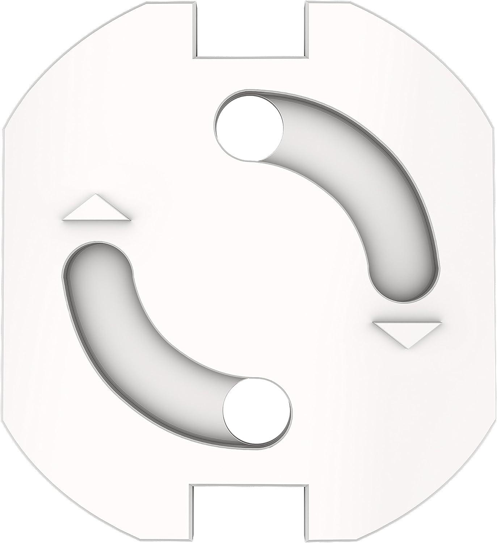 protecci/ón para el beb/é con casco Sentivus KS010-010 Dispositivo de seguridad para ni/ños para toma de corriente con tap/ón de rosca juego de 20 tipo de enchufe F, versi/ón 2017