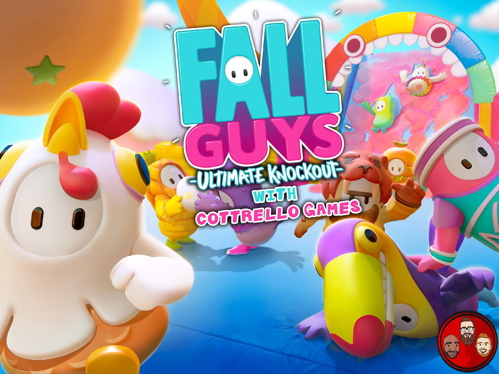 Fall Guys Ultimate Knockout with Cottrello Games