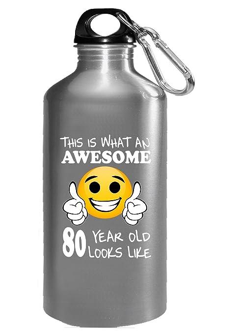 Emoji cumpleaños regalos hombres de 80º cumpleaños 80 año de ...