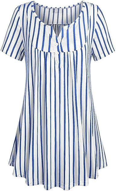 FAMILIZO Camisetas Mujer Verano Camisetas Mujer ❤️M ...