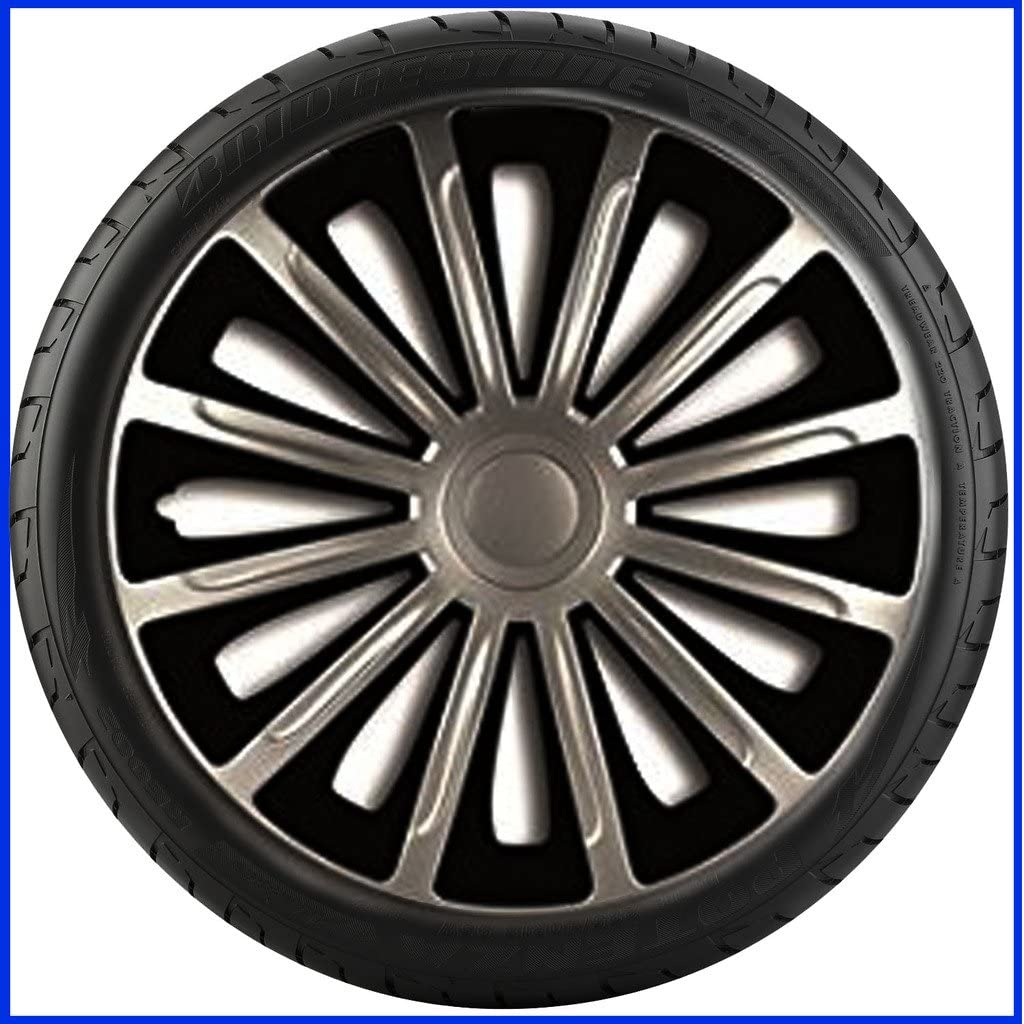 2001-2007 PEUGEOT 206 CC 15 inch Trend Car Alloy Wheel Trims Hub Caps Set of 4