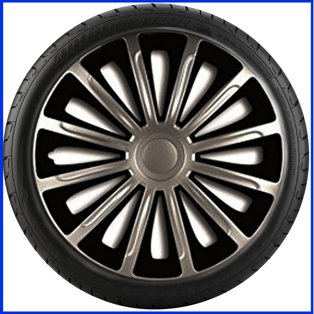 FIAT SCUDO VAN (2007 ON) 16 inch Trend Car Alloy Wheel Trims Hub Caps Set of 4: Amazon.co.uk: Car & Motorbike