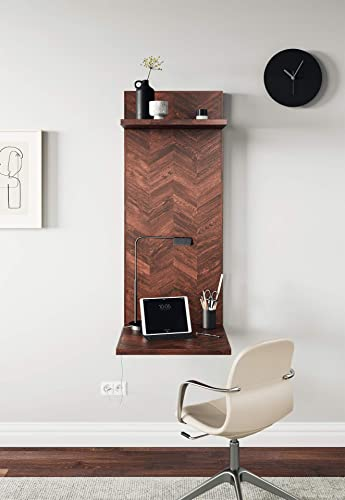 Mindful Living Hanging Wall Desk