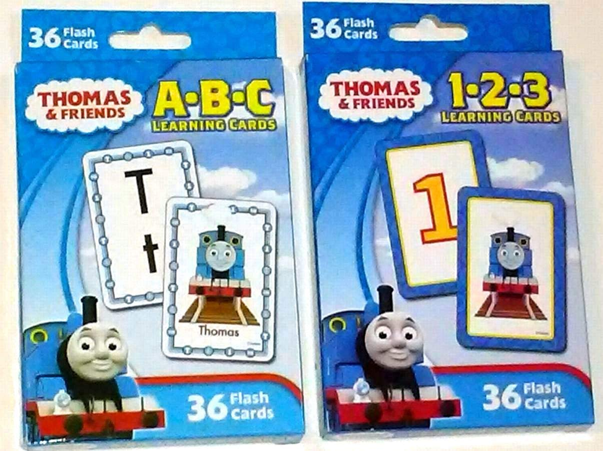 Amazon Com Thomas The Train And Friends Set Of 2 Learning Flash