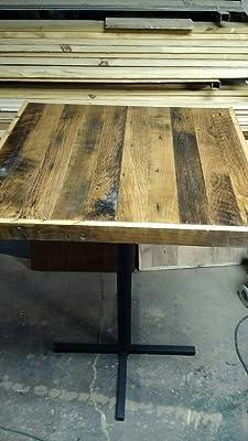 Oak barn wood tabletop.
