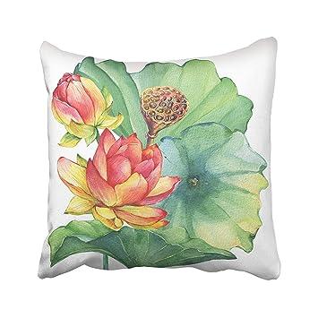 Amazon Custom Arrangement Of Pink Lotus Flower With Leaves Seed