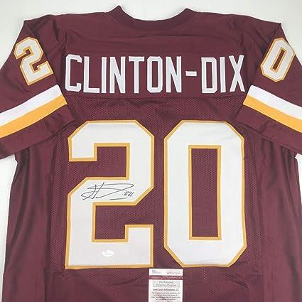 Ha Ha Clinton-Dix Signed Jersey - HAHA Washington Burgundy COA - JSA ... 4c40ef29c