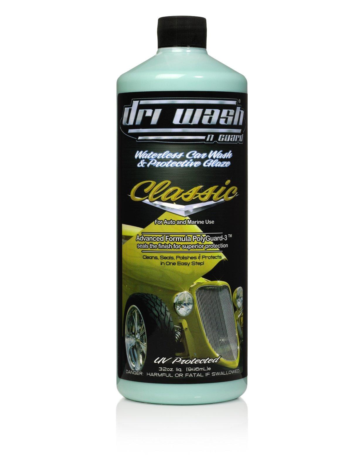 32oz Dri Wash 'n Guard Classic Waterless Car Wash (W/O AIRosol Bottle