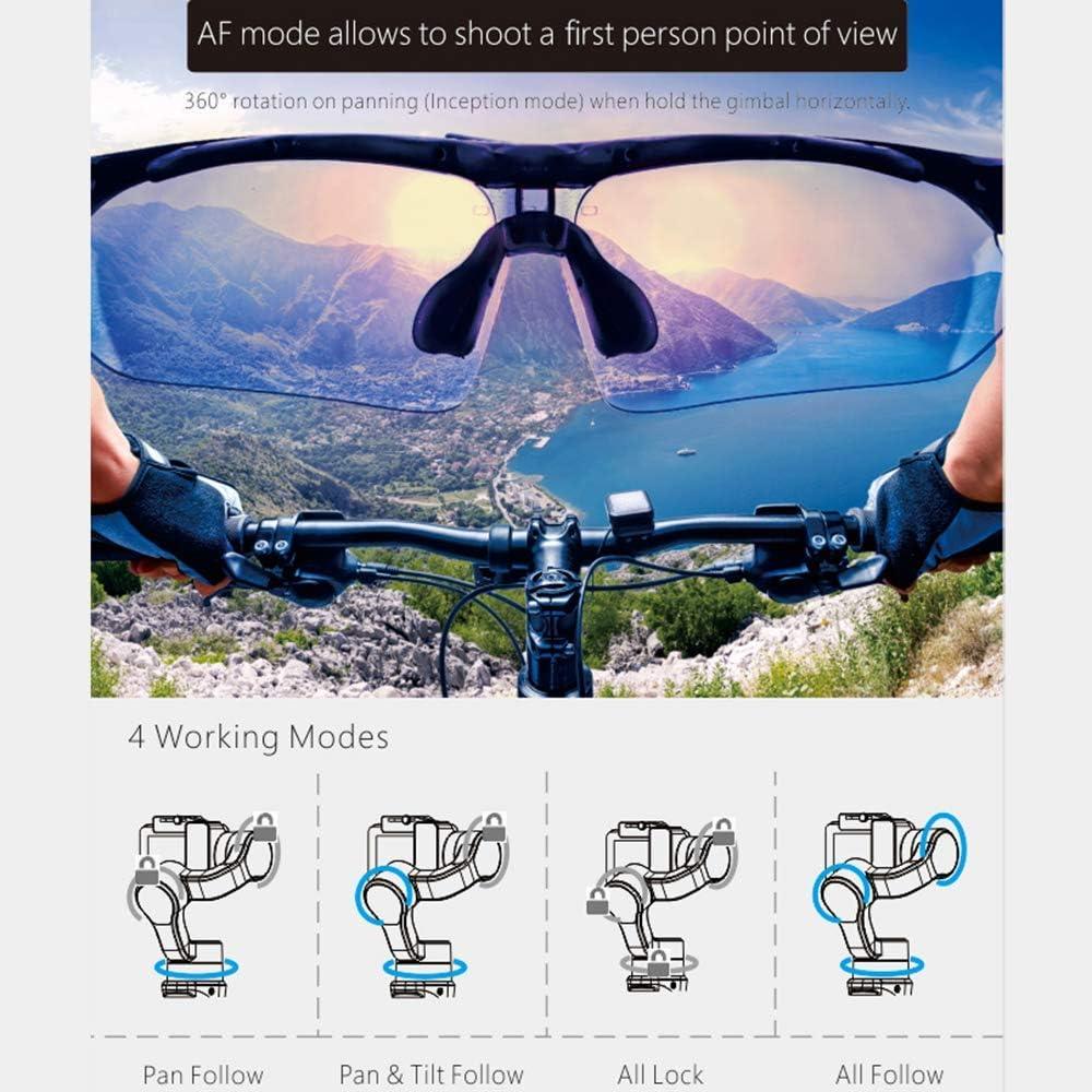 Tracking SJCAM Sports Cams APP Controls for Time-Lapse Hohem Gopro Gimbal 3-Axis Handheld Gimbal Stabilizer Splash Proof Pro for Gopro Hero 7//6//5//4//3 DJI Osmo Action Yi Cam 4K AEE Auto Panoramas