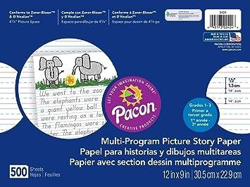 """Pacon ¡imagen historia de papel, 12 """"x9,"""" D"""