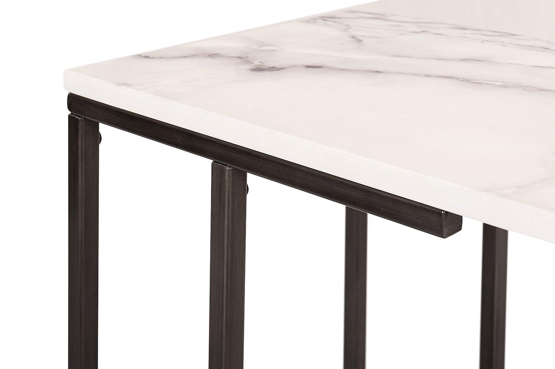 Serta FUST10064A Harton C-Table Rustic Millwork Holdings