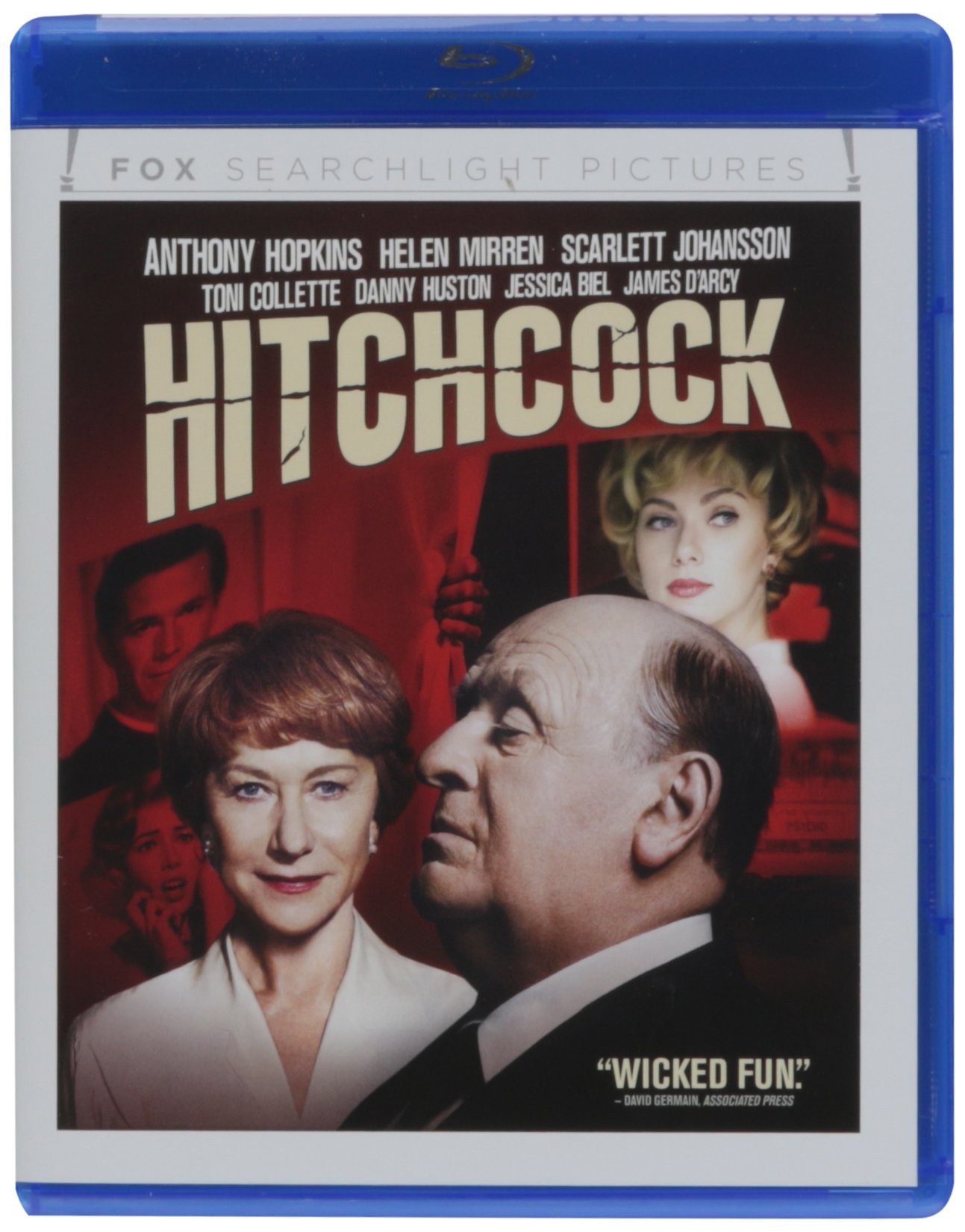 Blu-ray : Hitchcock (Pan & Scan)