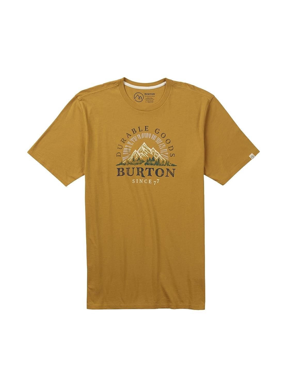 Burton Men's Yukon Short Sleeve T-Shirt, Harvest Gold, Large