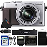 "Panasonic PANLX100SL-16GB4PC 16.8 Digital Camera with Optical Image Stabilized Zoom and 3"" LCD (Silver)"