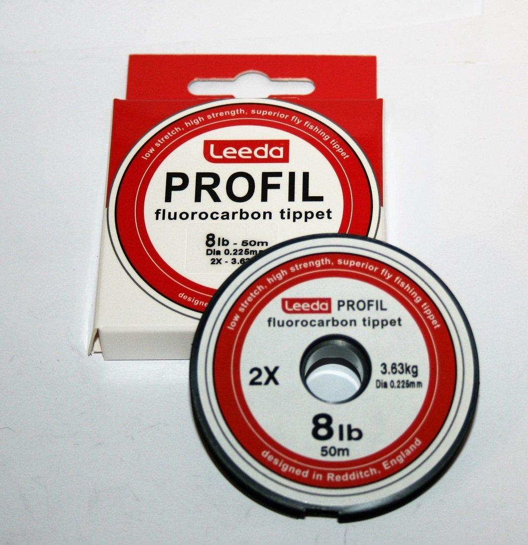 Leeda Profil Fluorocarbon Tippet 8lb