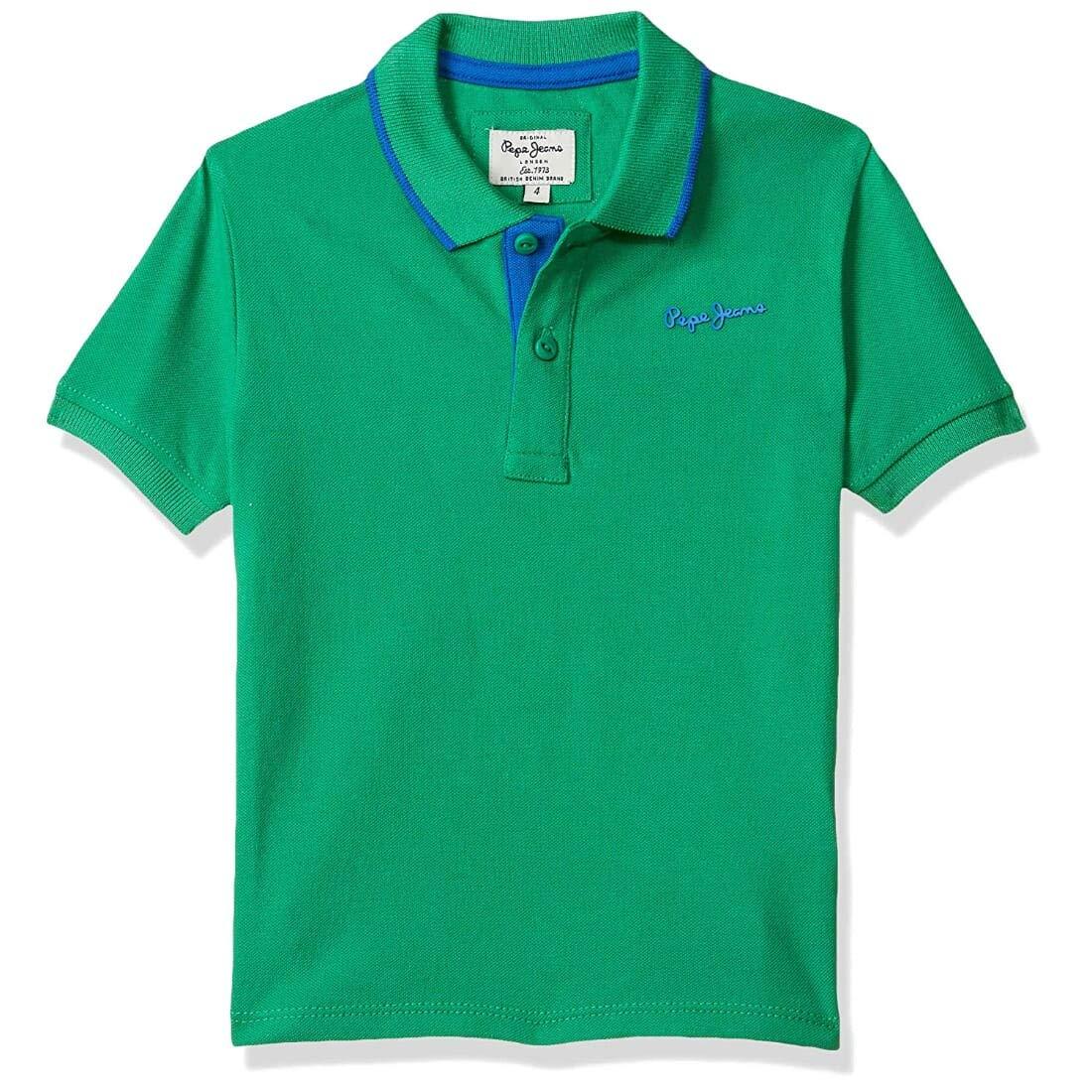 PepeJeansBoysGreenTshirt