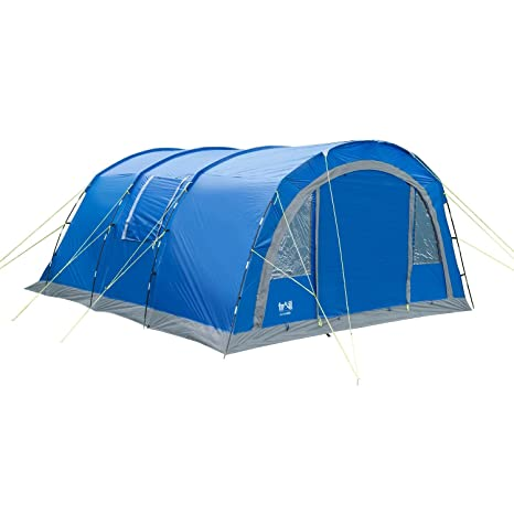 6 Berth Tent 6 Man Family Tunnel Tent