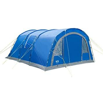 Large 4-6 Person/Man Family Tunnel Tent Sewn-In Groundsheet  sc 1 st  Amazon UK & Large 4-6 Person/Man Family Tunnel Tent Sewn-In Groundsheet 4000mm ...
