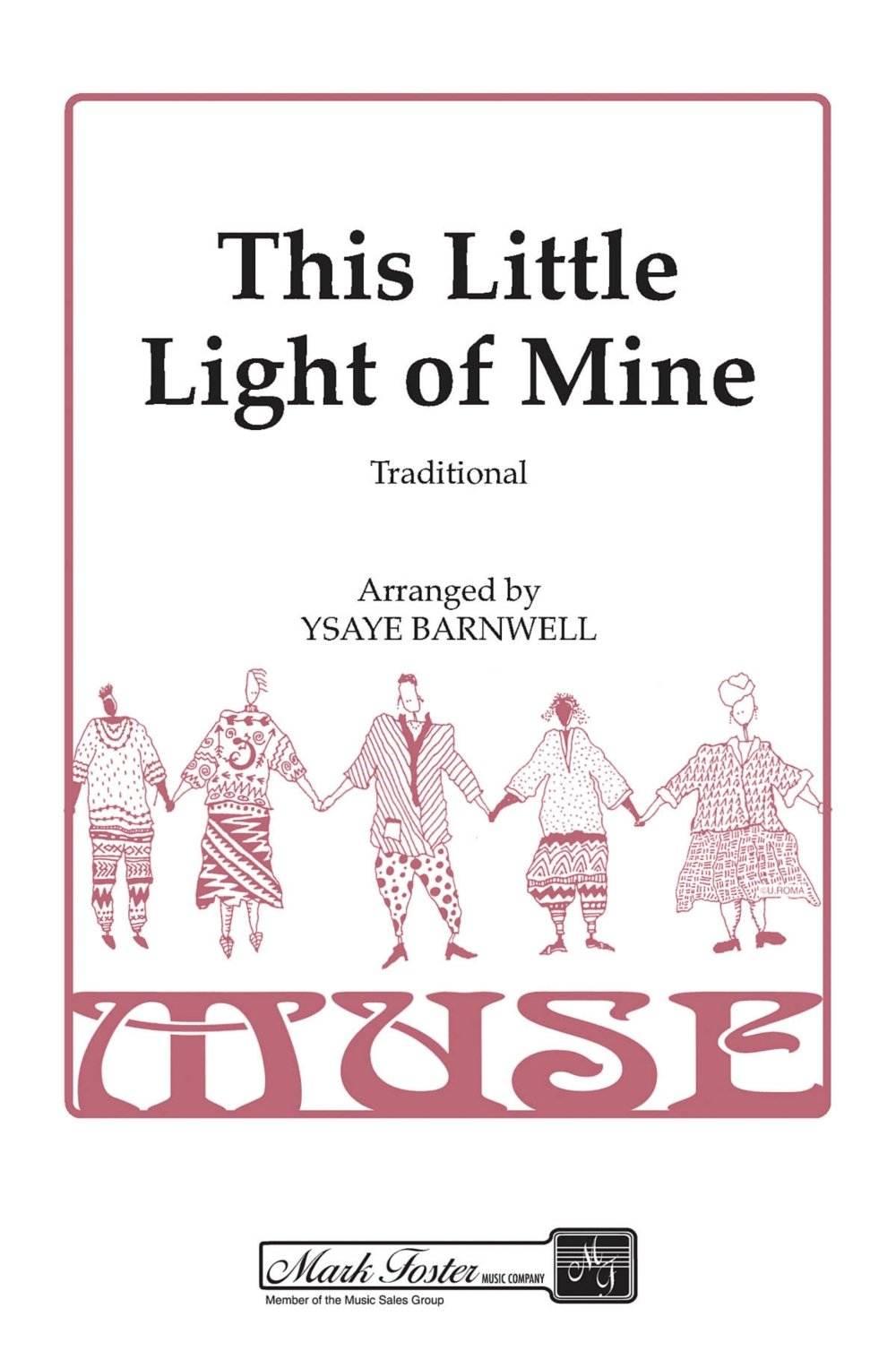 Shawnee Press This Little Light of Mine SSAA A Cappella arranged by