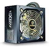 Enermax ENP450AGT 450W ATX Negro unidad de - Fuente de alimentación (100-240 V, Activo, Over current, Over power, Sobrevoltaje, Cortocircuito, Bajo voltaje, 24-pin ATX, ATX, PC)
