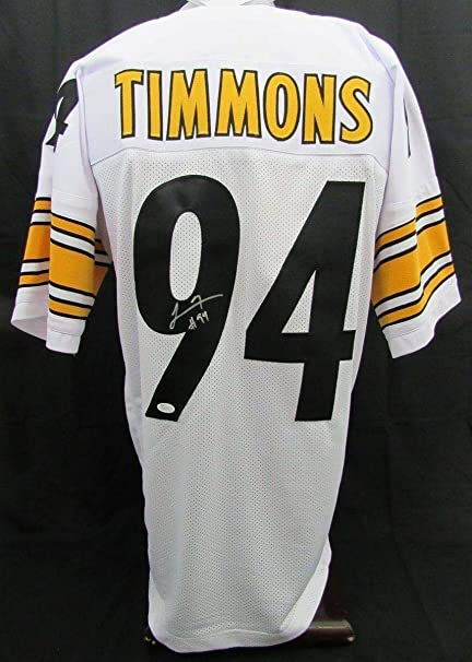 89cfdfc06cc Lawrence Timmons Autographed Jersey - 130516 - JSA Certified - Autographed  NFL Jerseys