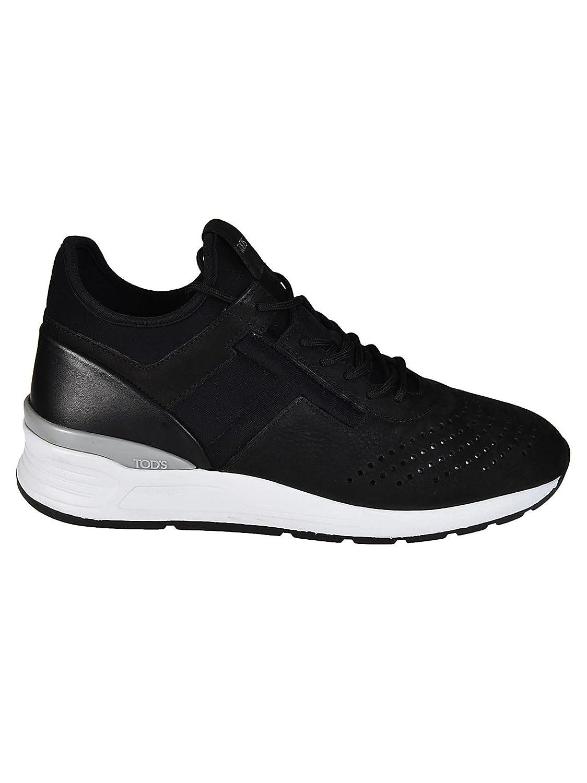 Tod's メンズ XXM69A0W920IMCB999 ブラック ファブリック 運動靴 B07DBT5PJK
