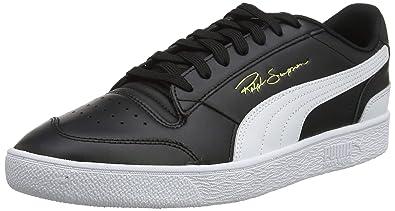 03d742ae9ef2c Amazon.com   Puma Men's Low-Top, Black White 01, 7.5 us   Fashion ...