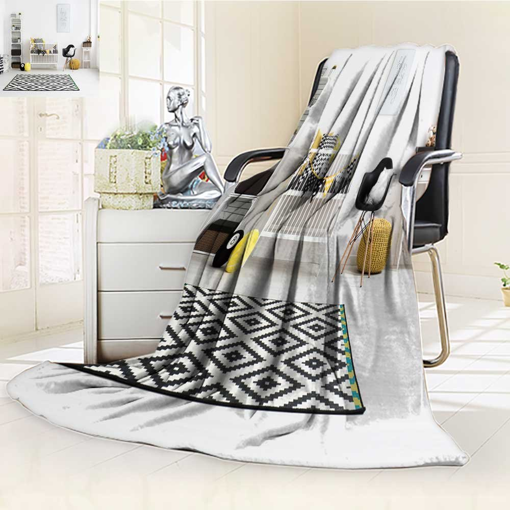 DOLLAR Blanket,shot of a modern baby room Traveling, Hiking, Camping, Full Queen, TV, Cabin, Couch, Bed Throw(60''x 50'')