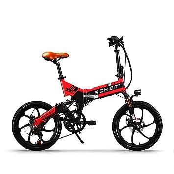 eBike_RICHBIT bicicleta eléctrica plegable bicicleta de ciudad bicicleta E 250W 48V batería LG batería de 20