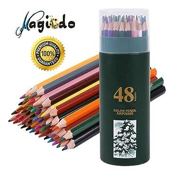 Magicdo 48 Pcs Colored Pencil Set For Adults Artists Kids