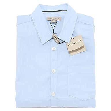 fbb9fdac4a49 BURBERRY 8895L Camicia velluto costine Bimbo Manica Lunga Camicie Shirts  Kids  10 Years