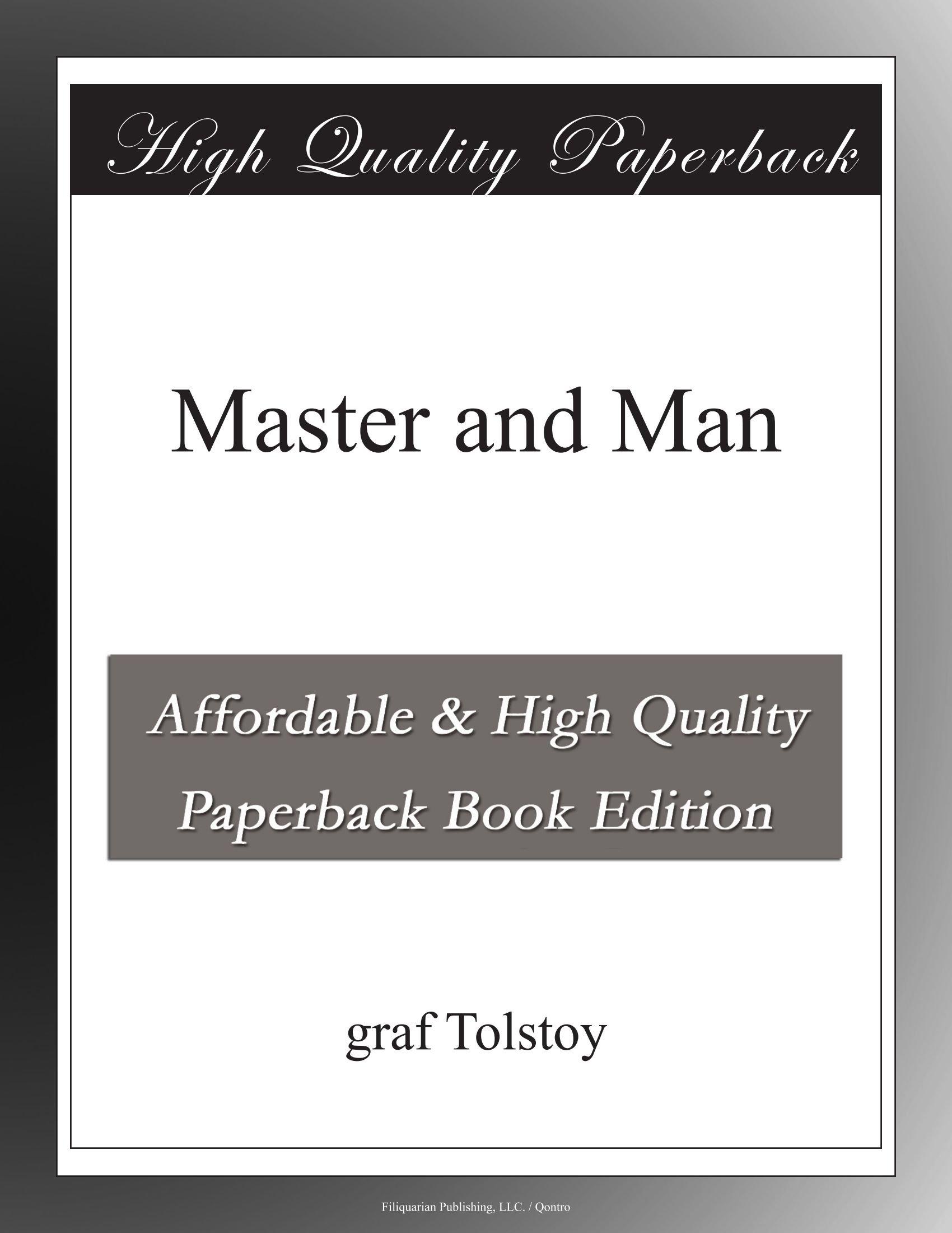 Master and Man pdf epub