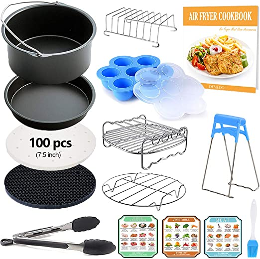 Amazon Com 7 Inch General Air Fryer Accessories Kit With Recipe