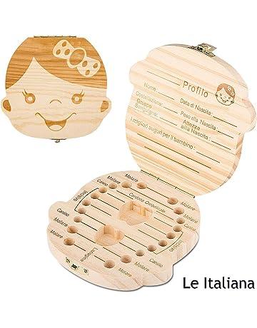 Infant Denti Lanugo Salva Box in legno carino personalità scatola di souvenir