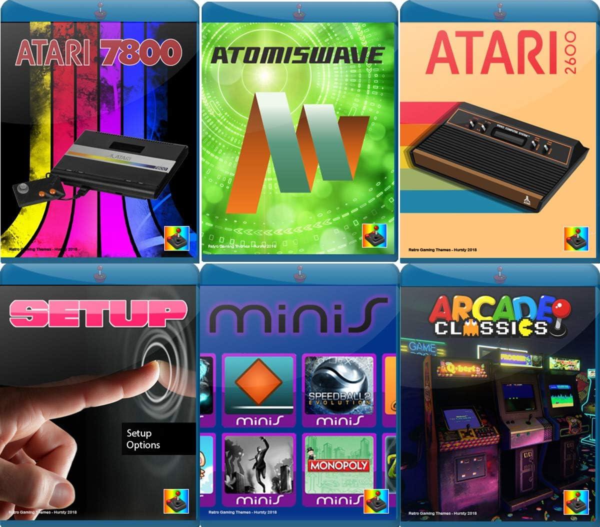 Raspberry Pi Retropie - Tarjeta MicroSD de 128 GB precargada, compatible con sistema Pi 4B, juegos clásicos incorporados, clase 10, colección premium con previsualizaciones de vídeo y 3D Boxart, Plug and Play: