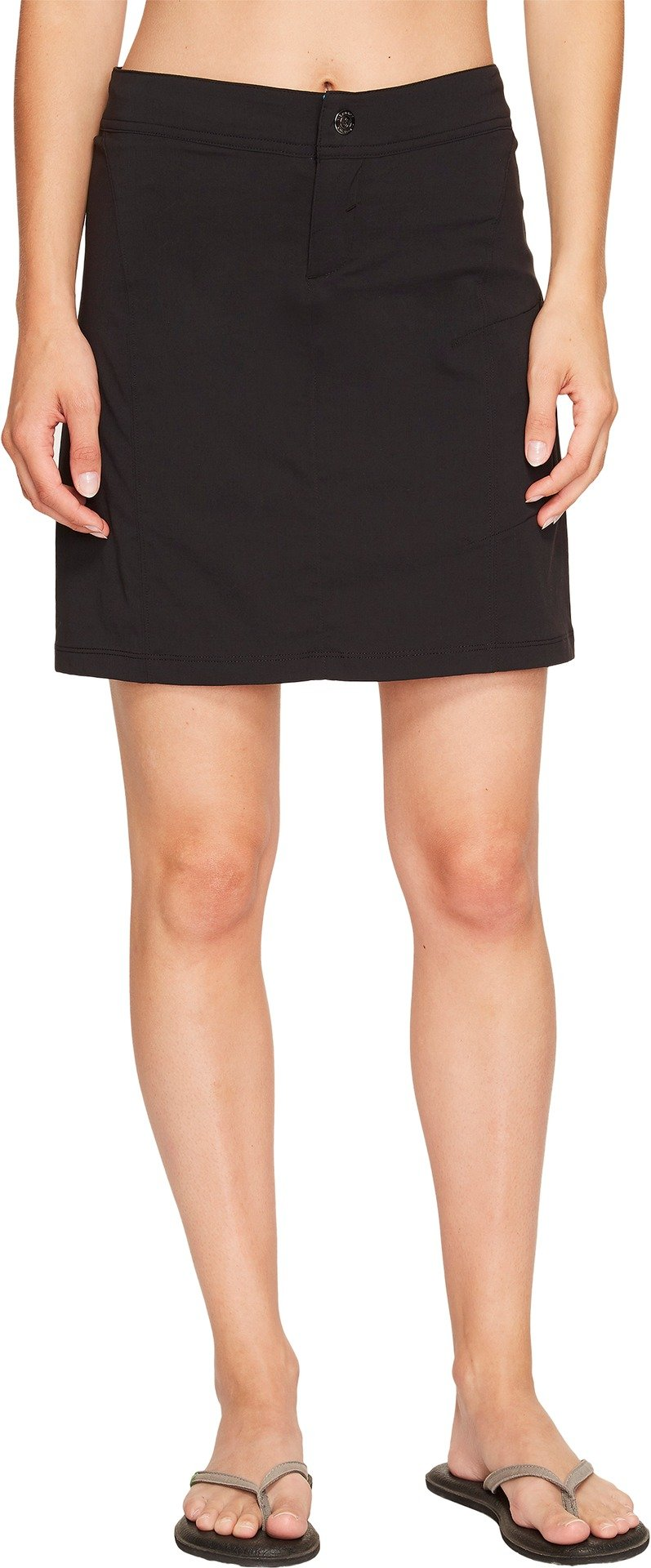 Columbia Women's Just Right Skort, Water & Stain Resistant, Black, 12 by Columbia