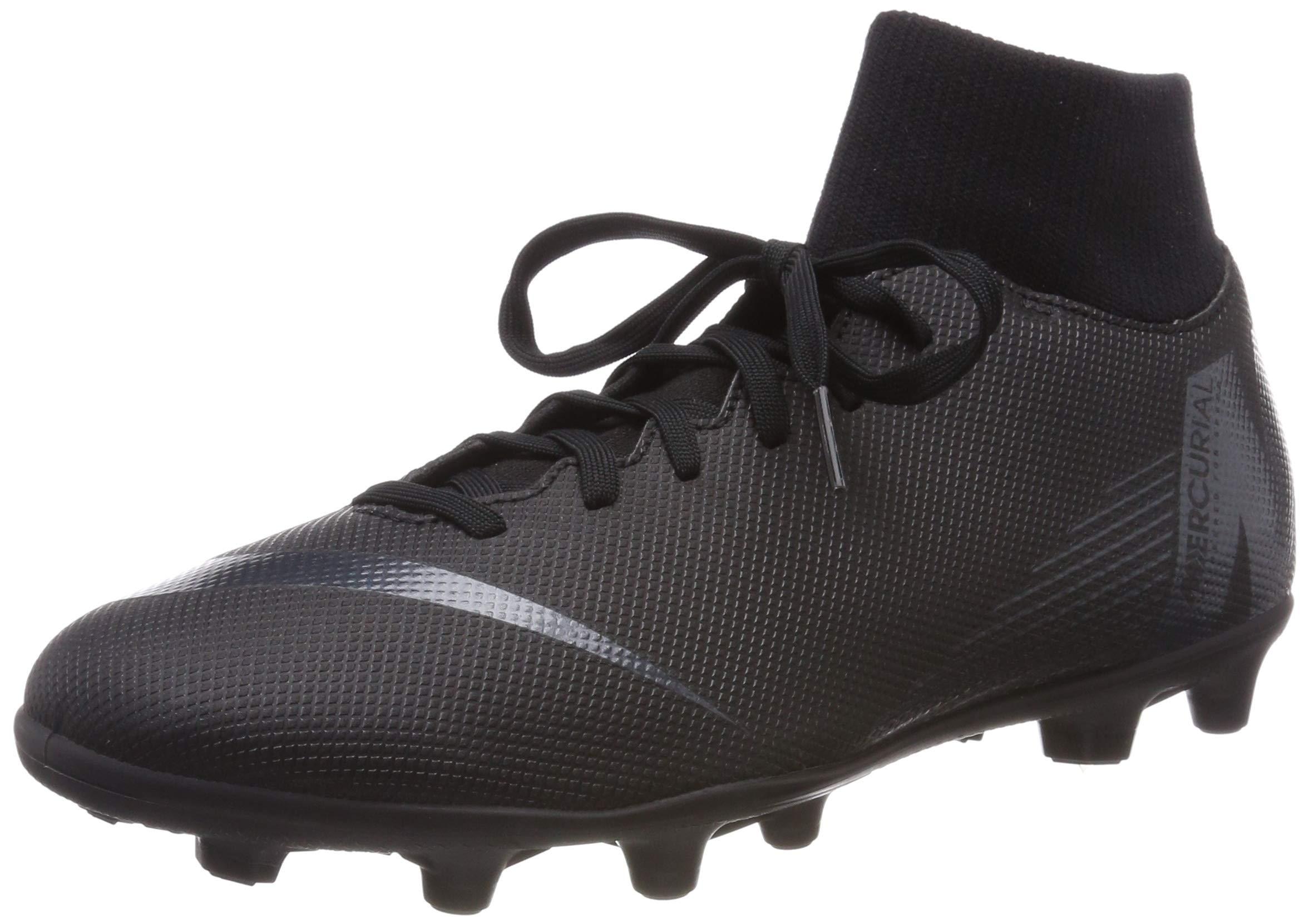 Nike Mercurial Superfly 6 Club MG Soccer Cleats (6, Black/Black)