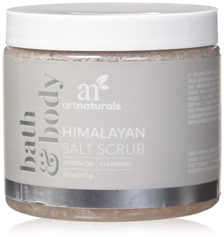 ArtNaturals Himalaya-Salz Körper-Peeling Scrub - (20 Oz / 567g) - Tiefenreinigung und Exfoliation mit Sheabutter und Jojobaöl ANFA-2002-VE